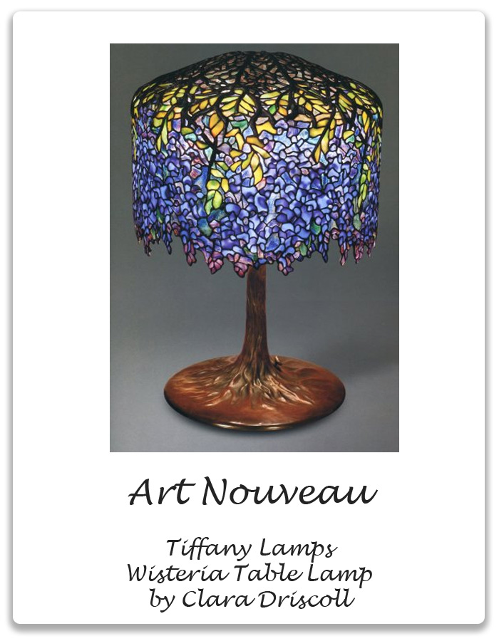 Art nouveau tiffany lamps wisteria table lamp xena barlow artnouveau tiffanylamps wisteria mozeypictures Image collections
