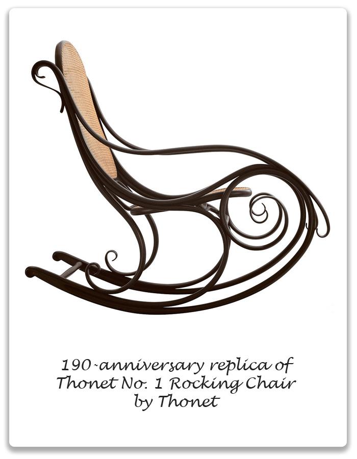 Victorian Thonet 1 Chair 190 Anniversary Replica