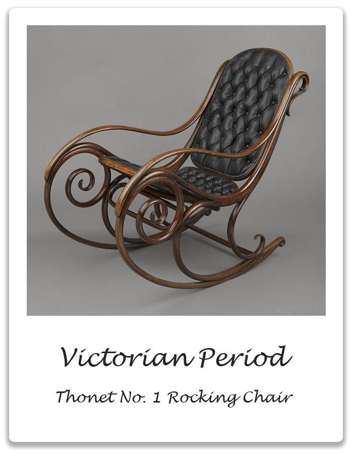 Wonderful VICTORIAN PERIOD: Thonet No.1 Rocking Chair