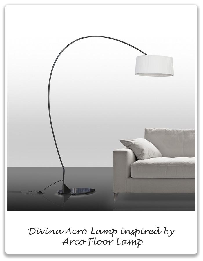 1960s Arco Floor Lamp Xena Barlow