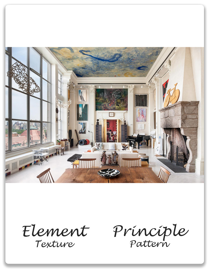 principles and elements of interior design home design