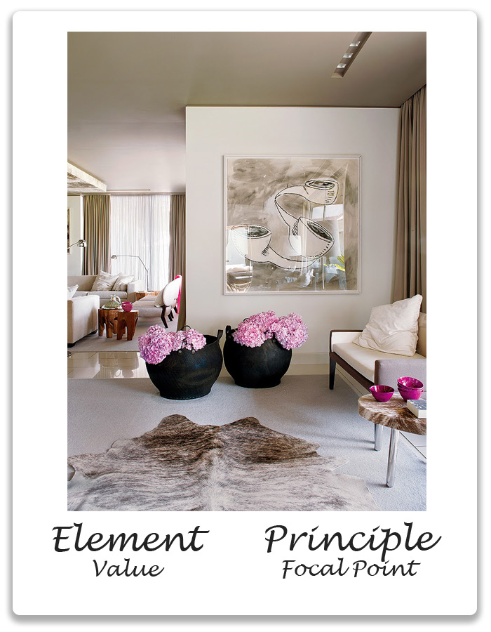 ELEMENTS & PRINCIPLES OF DESIGN: Value & Focal Point | Xena Barlow