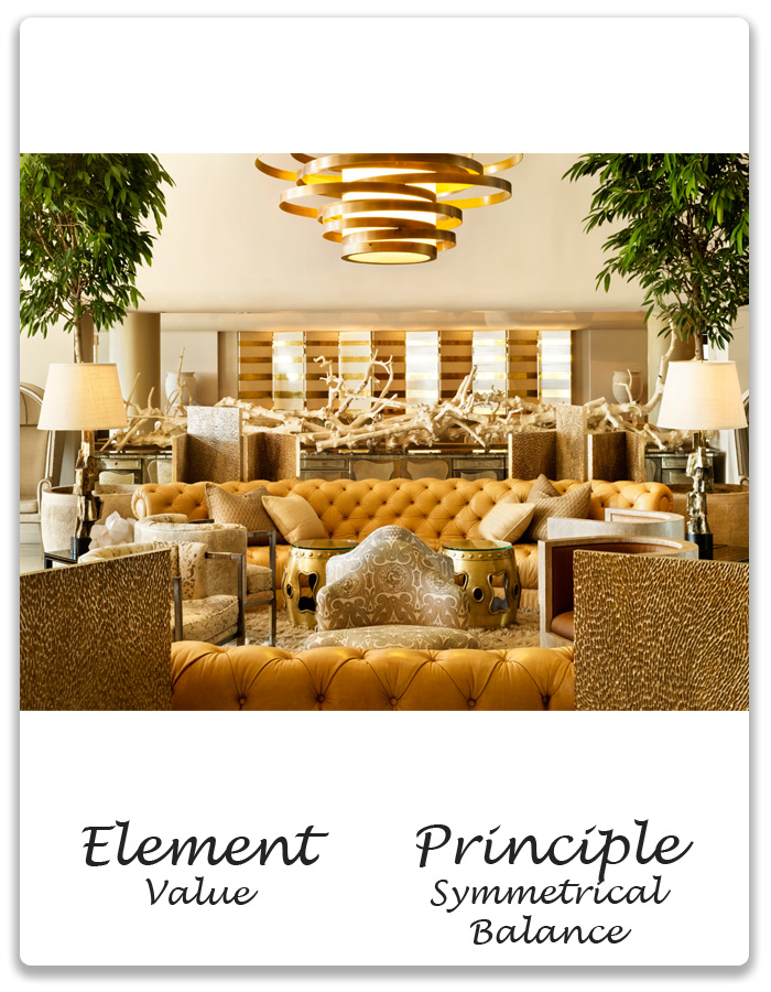 Elements Of Design Value : Elements principles of design value symmetrical