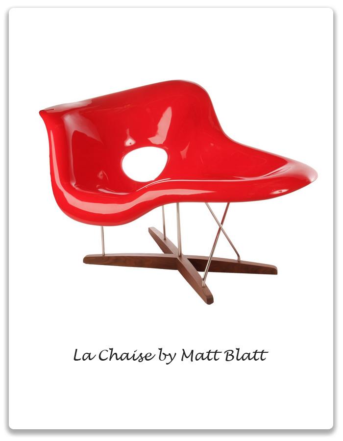 post war modernism la chaise by eames xena barlow. Black Bedroom Furniture Sets. Home Design Ideas